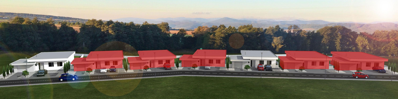 Novostavby moderný domov pri Prešove